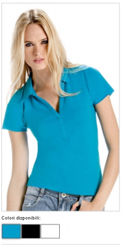 POLO DONNA SINGLE JERSEY 10942
