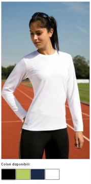 T-SHIRT LADIES` PERFORMANCE LS 07933