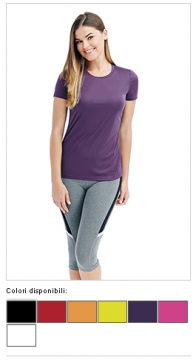 T-shirt donna Active Sports 07605
